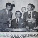 Domenico Rea firma il contratto con il produttore Amoroso